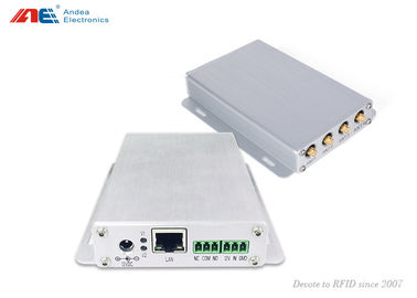 चीन 4 Antenna channel Mid Range RFID Reader with Adjustable RF Power फैक्टरी